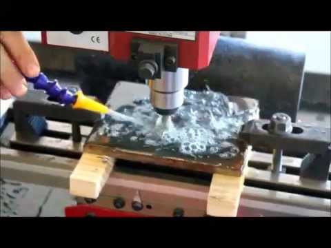 Cnc Desktop Mini Mill With Fluid Control Cutting 3 8