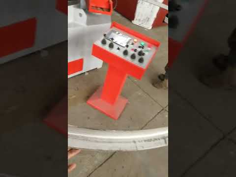 Bending steel angle of profile bending machine
