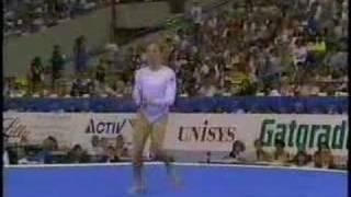 Kim Zmeskal 1991 Worlds Team Optional FX