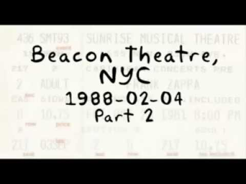 Frank Zappa 1988 02 04 Beacon Theatre Part 2