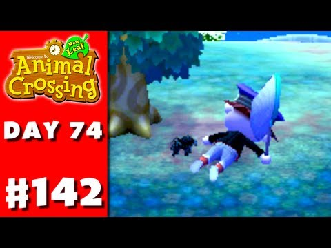 Animal Crossing: New Leaf - Part 142 - Tarantula Attack! (Nintendo 3DS Gameplay Walkthrough Day 74)