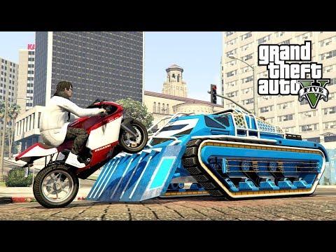 "SCARAB VS STUNTY MOTOCYKLEM! w GTA 5 Online Hogaty i SYLO ""TESTOWANIE!"" #312 thumbnail"