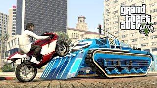 """SCARAB VS STUNTY MOTOCYKLEM! w GTA 5 Online Hogaty i SYLO """"TESTOWANIE!"""" #312"""