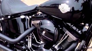 2016 SOFTAIL SLIM S COBRA SLIP-ON PIPES