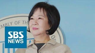 """손혜원 의원, 민주당 탈당…""""당 밖에서 의혹 해소할 것"""" / SBS"""