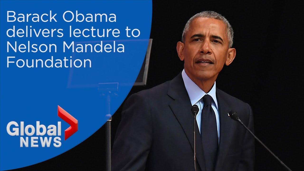 Barack Obama marks Nelson Mandela's 100th birthday