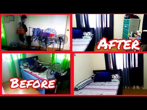ROOM MAKEOVER or General Cleaning sa kwarto | Baklang Waray