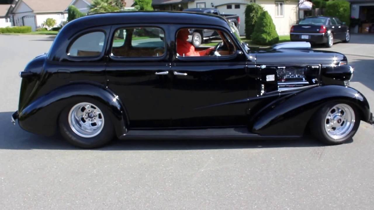 For sale prostreet 1938 chevrolet sedan youtube for 1938 chevy 4 door sedan for sale