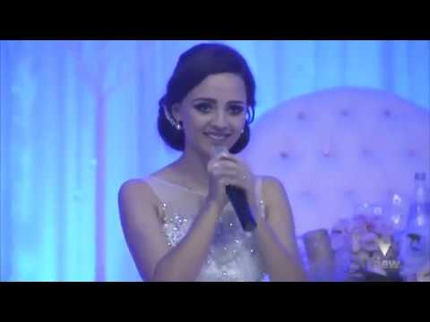 Bride sings ''Everytime We Touch'' on her Wedding