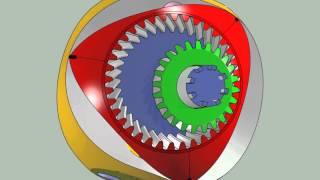moteur rotatif sphérique
