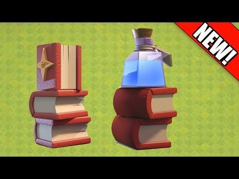 Clash Of Clans - How To Get ALL Magical Items Strategy Guide!