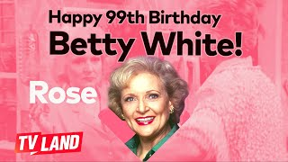 Happy 99th Birthday, Betty White! 🎈 Best Moments of Rose | Golden Girls