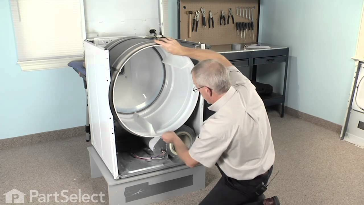 Dryer Repair  Replacing the Multi Rib Belt (Whirlpool
