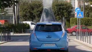 Pers maakt kennis met Nissan Leaf (Auto van het Jaar 2011)