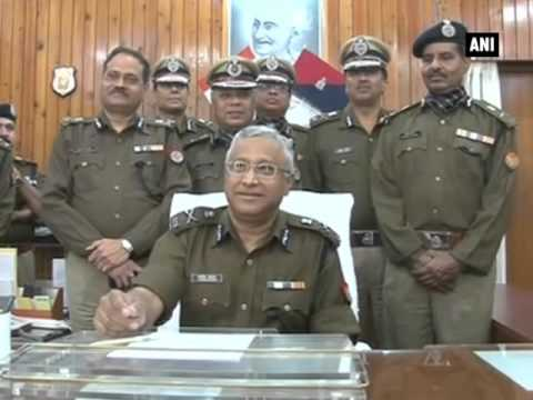 Javed Ahmed takes charge as UP's DGP