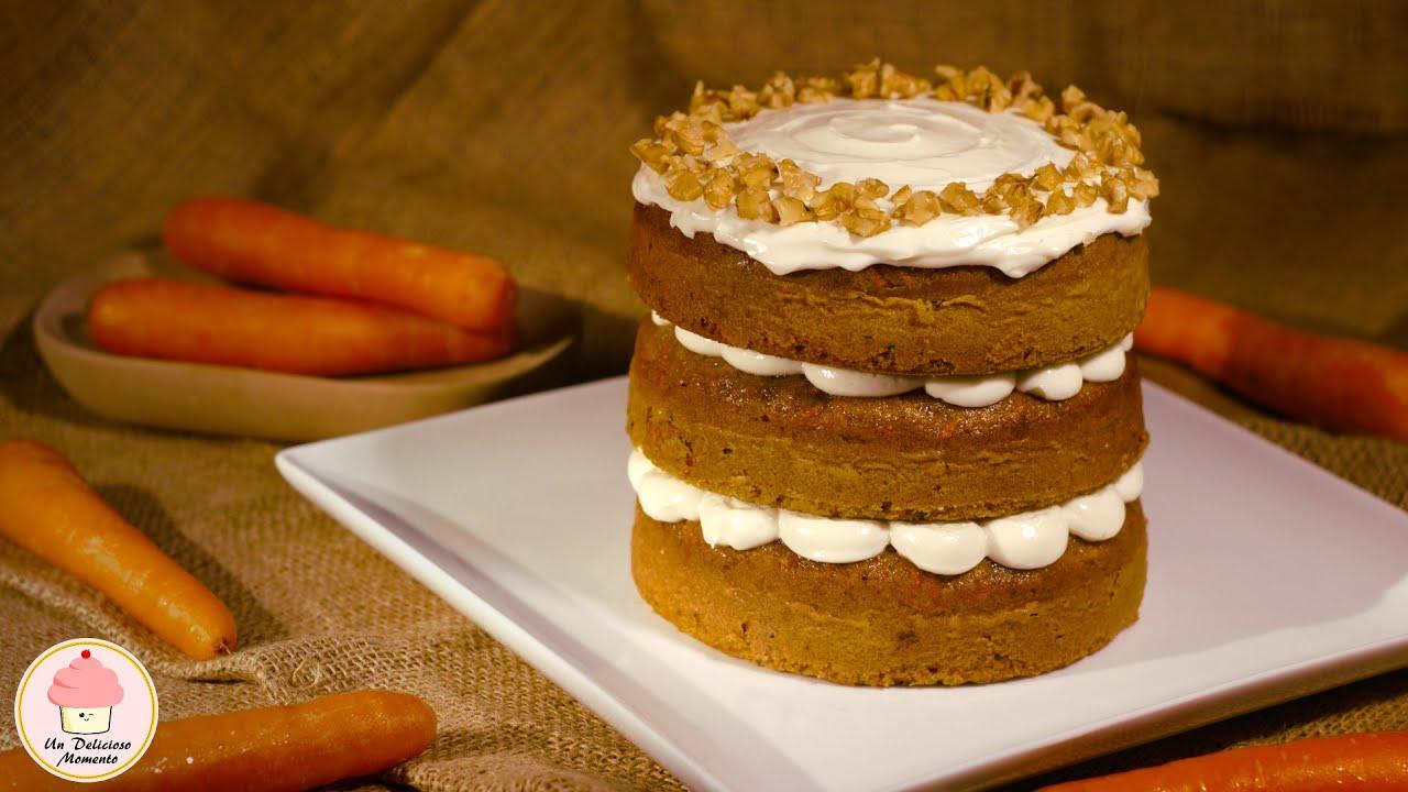 receta de pastel de zanahoria paso a paso