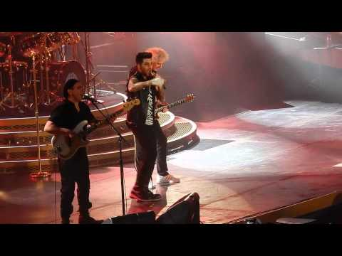 Queen + Adam Lambert - Tie Your Mother Down - Tauron Arena Krakow 02/21/2015