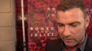 Liev Schrieber at the Opening Night of Romeo and Juliet on Broadway!