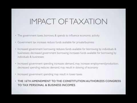 Regulations, Taxation, & Bank Notes