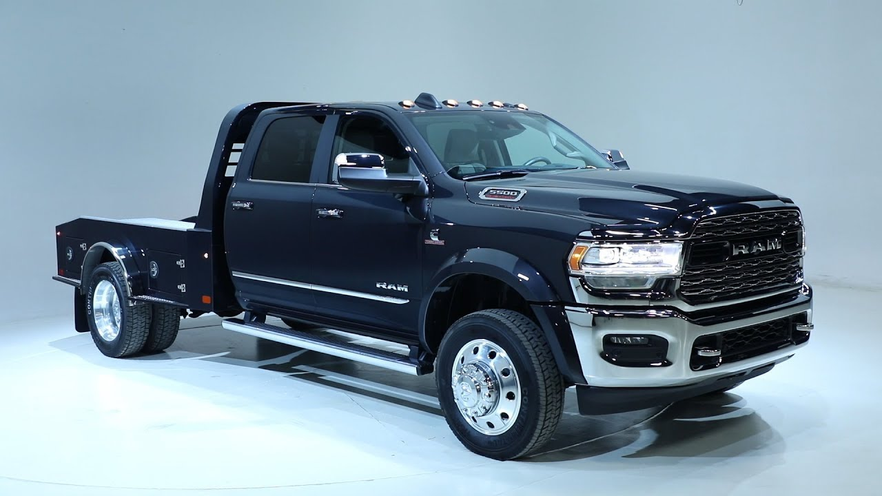 Dodge Ram 5500 >> 2019 Ram 5500 Chassis Cab Limited Beauty Shots - YouTube