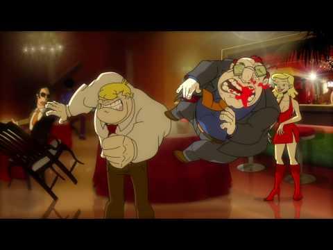Boogie el aceitoso la pelicula trailer youtube for El mural pelicula online