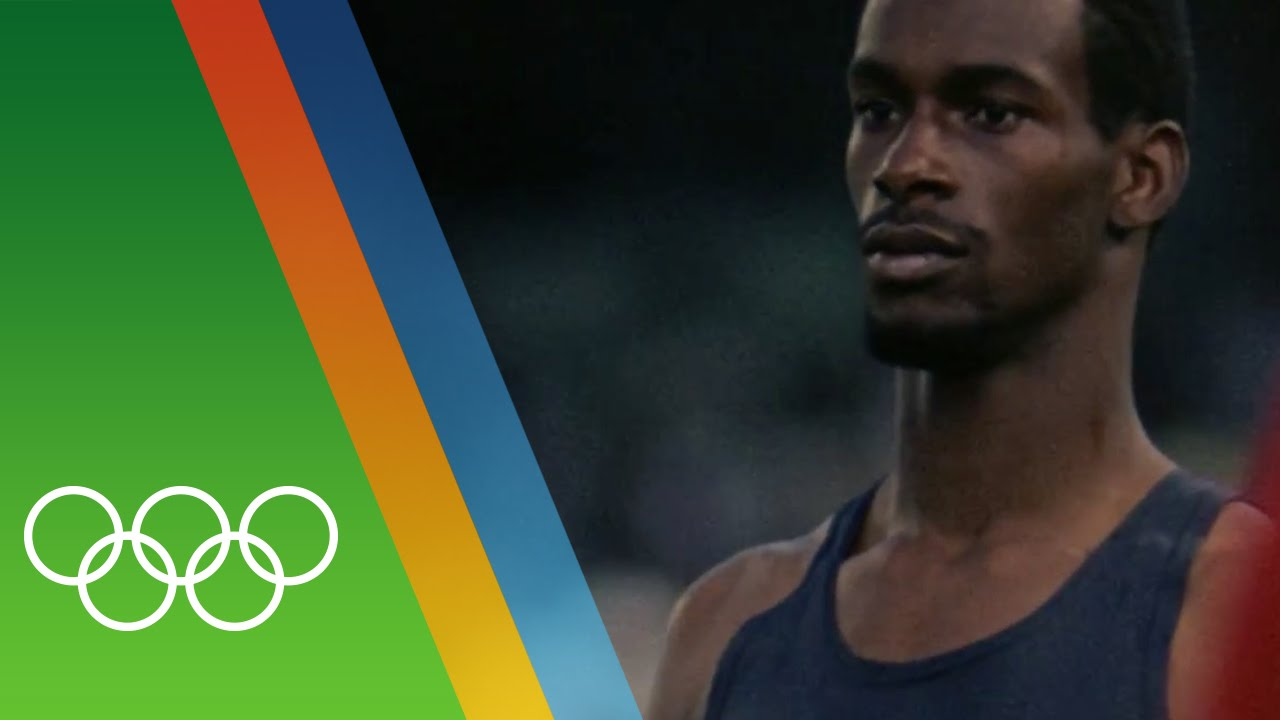 Bob Beamon's Long Jump Olympic record | Epic Olympic Moments