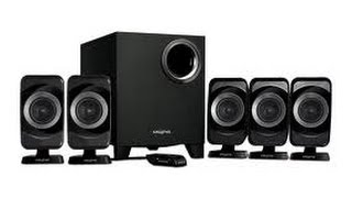 Creative Inspire T6160 5.1 Surround Sound Speakers and Subwoofer in 1080p HD