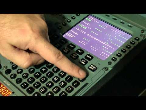 Tutorial A320 - Programmierung des Flight Management Computers (FMC)