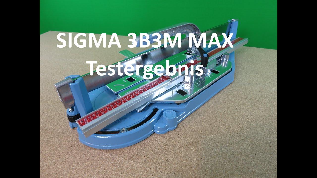 FLIESENSCHNEIDER SIGMA 3D3M MANUAL 90,5 CM SCHNITTLÄNGE