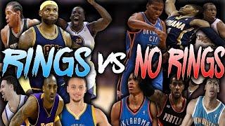 RINGS VS NO RINGS!!!! NBA 2K16 MY LEAGUE!!!
