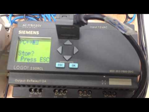 Programar Siemens Logo 230rc Con Pc Puerto Com Basico