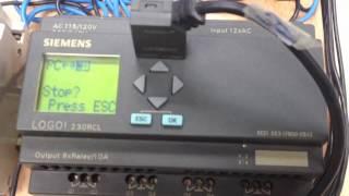 Programar Siemens Logo 230RC con Pc puerto Com 232 (Básico)