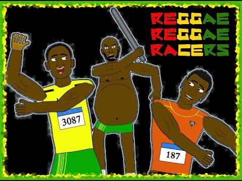 Regg4e Regg4e Racers- Usain Bolt, Yohan Blake And Asafa Powell (London 2012 Olympics)