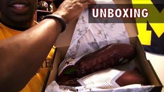 UA Blur Football Cleats Unboxing - Ep. 199