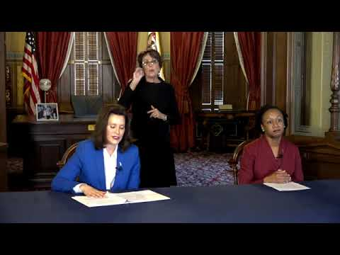 Michigan Gov Gretchen Whitmer Stay-home Order In Effect Until April 13; $500 Fines, Jail Possible