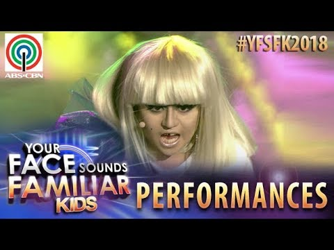 Your Face Sounds Familiar Kids 2018: Esang De Torres as Lady Gaga | Paparazzi