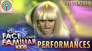Your Face Sounds Familiar Kids 2018: Esang De Torres as Lady Gaga | Paparazzi