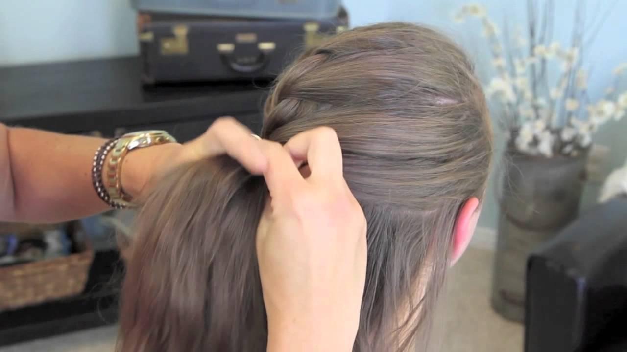 French Twist into Rope Braid  BacktoSchool  Cute Girls