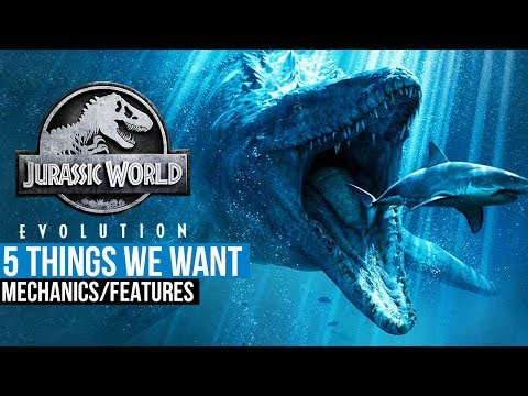 5 Jurassic World Evolution Features You Want The Most