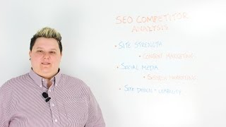 Getting Started With SEO Competitor Analysis
