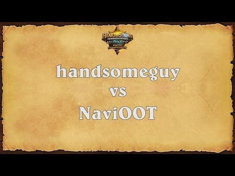 handsomeguy vs NaviOOT - Asia-Pacific Winter Championship - Semifinals 2