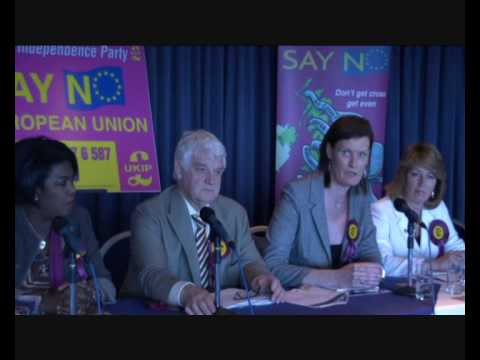UKIP WM European Election Campaign 2009