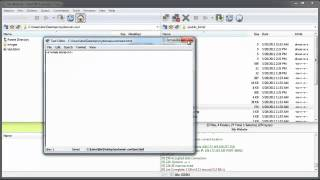 How to manage files inside of FlashFXP Mp3