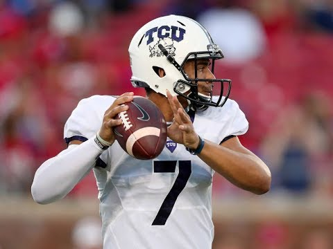 Kenny Hill (TCU QB) vs Baylor 2016