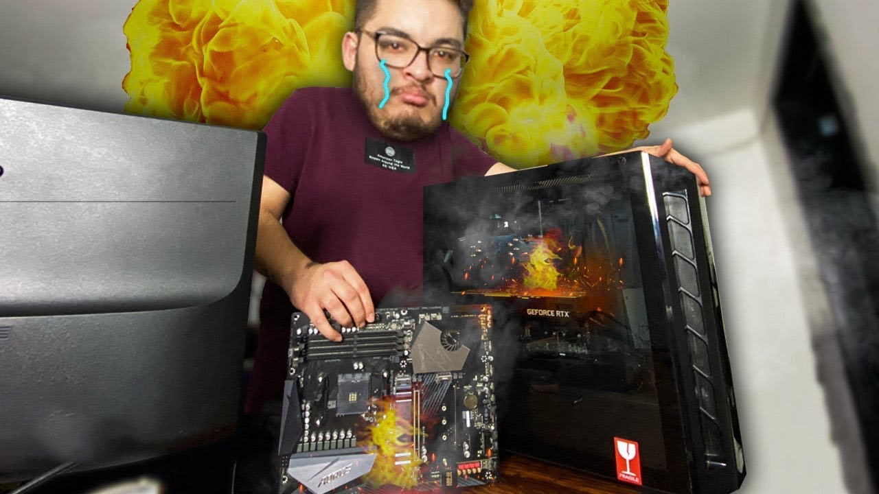 Arreglando la PC de @JuanJuegaJuegos  | La Queme Otra Vez