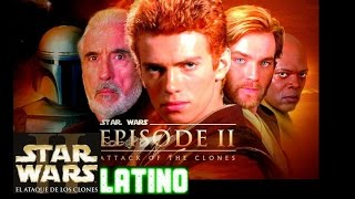Star Wars Episodio II: El Ataque de los Clones Trailer Latino (HD)