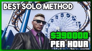 GTA 5 Online: SOLO UNLIMITED MONEY & RP! - Fast Easy Money Methods Not Money Glitch PS4/X1/PC 1.43