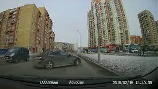 Место нарушения - ул. Газовиков - ул. Проезд Заречный. Гос номер нарушителя р667тх 72 регион