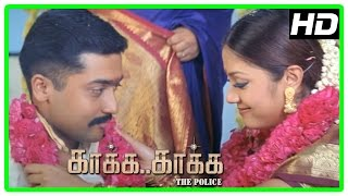 Gambar cover Kaaka Kaaka movie scenes | Daniel Balaji switches guns | Suriya and Jyothika get married