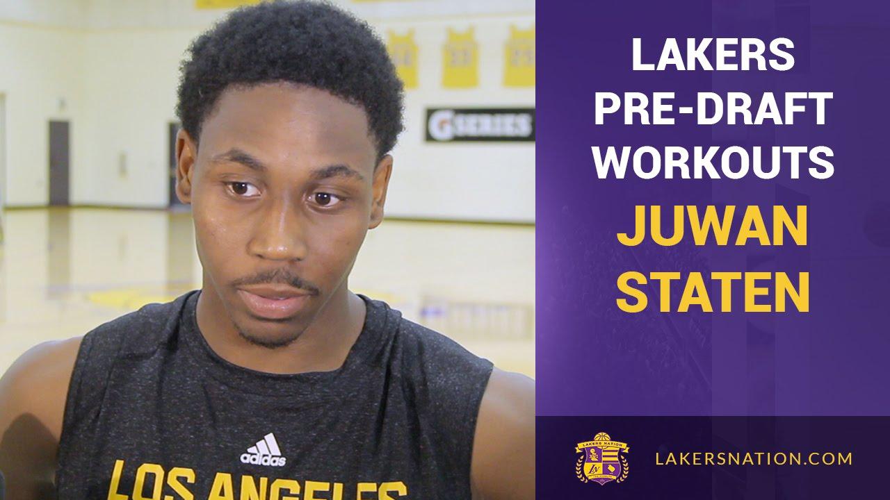 Lakers Pre-Draft Workouts: Juwan Staten